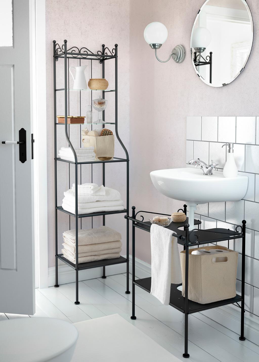 Optimiser une petite salle de bains 8 astuces indispensables for Salle bain ikea