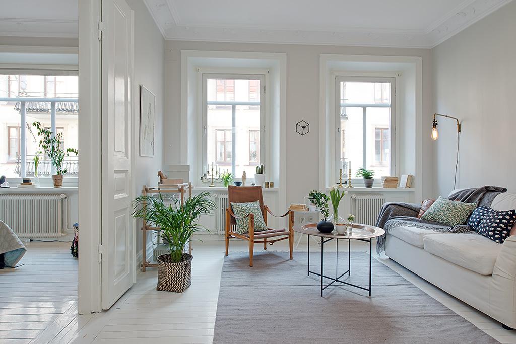 10 conseils pour un salon chic et tendance for Departamentos decorados estilo moderno