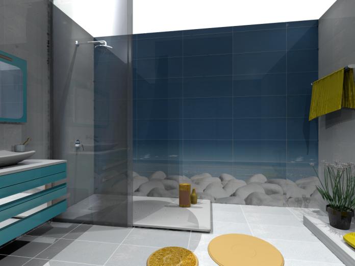 5 id es pour une salle de bain zen woodeco. Black Bedroom Furniture Sets. Home Design Ideas