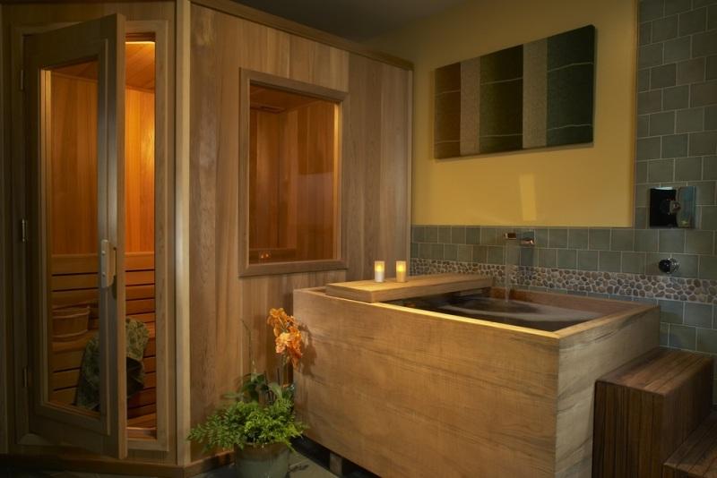 5 id es pour une salle de bain zen woodeco for Salle de bain chaleureuse