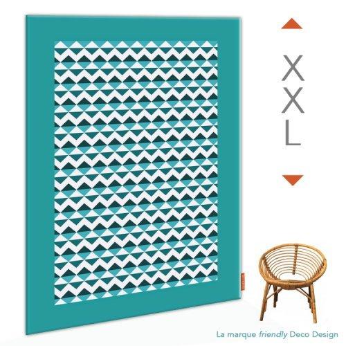 D coration scandinave les 10 accessoires pour une ambiance nordique - Tableau bleu canard ...