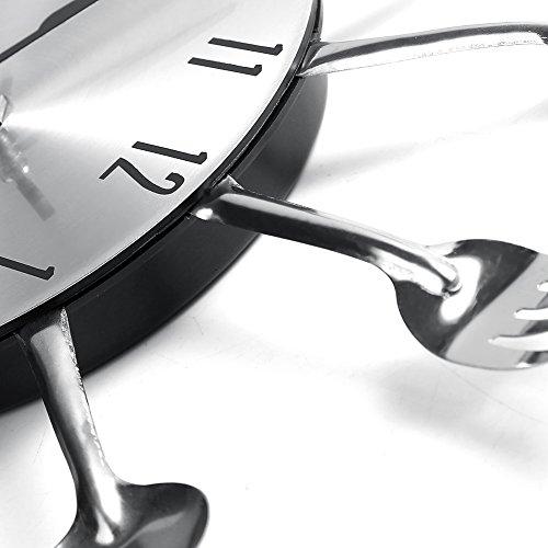 Cool et pourquoi pas une horloge de style british with horloge couverts for Horloge couvert