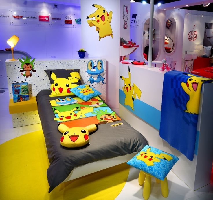 pokemon 9 id es de d coration pour la chambre de votre. Black Bedroom Furniture Sets. Home Design Ideas