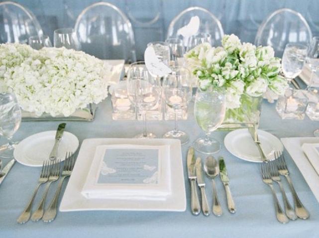 5 astuces pour r ussir votre d coration de table de mariage for Couvert table disposition