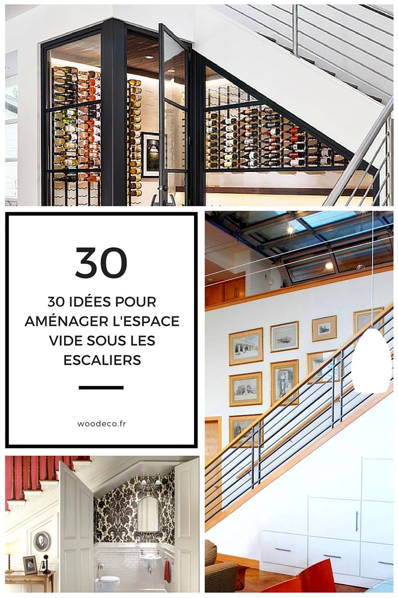 Wc Sous Escalier Feng Shui aménager l'espace vide sous l'escalier : 30 idées très