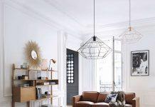 Luminaires suspendus en alu style contemporain