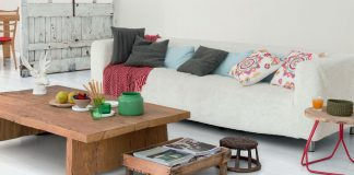 Mélangez les styles dans votre salon pour plus d'originalité