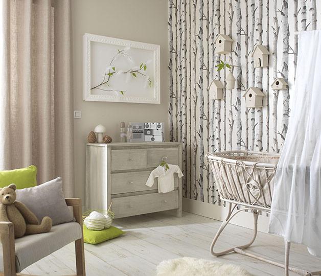 8 conseils pour bien choisir la peinture de la chambre de b b for Papier peint pour chambre bebe