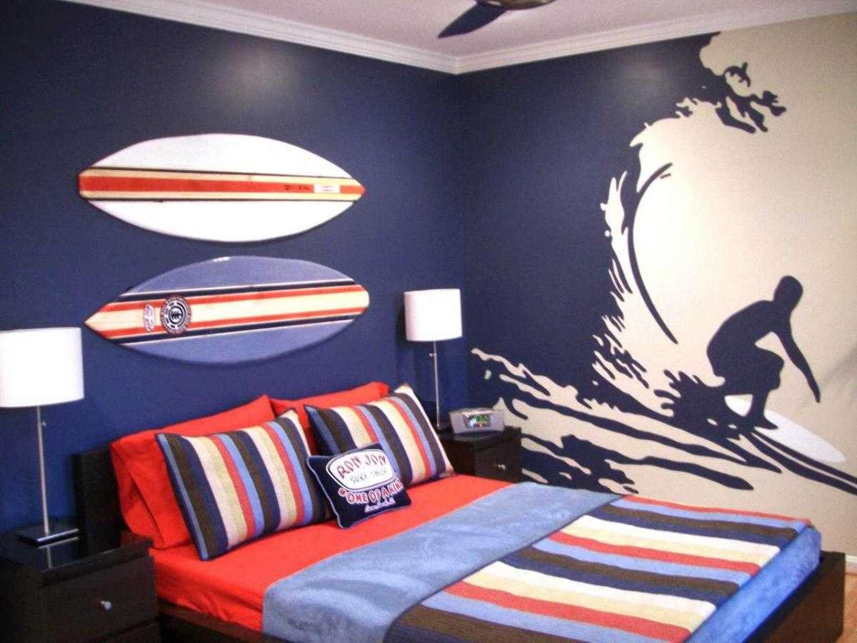 Optez pour le papier peint pour une d coration murale design for Papier peint pour chambre ado garcon