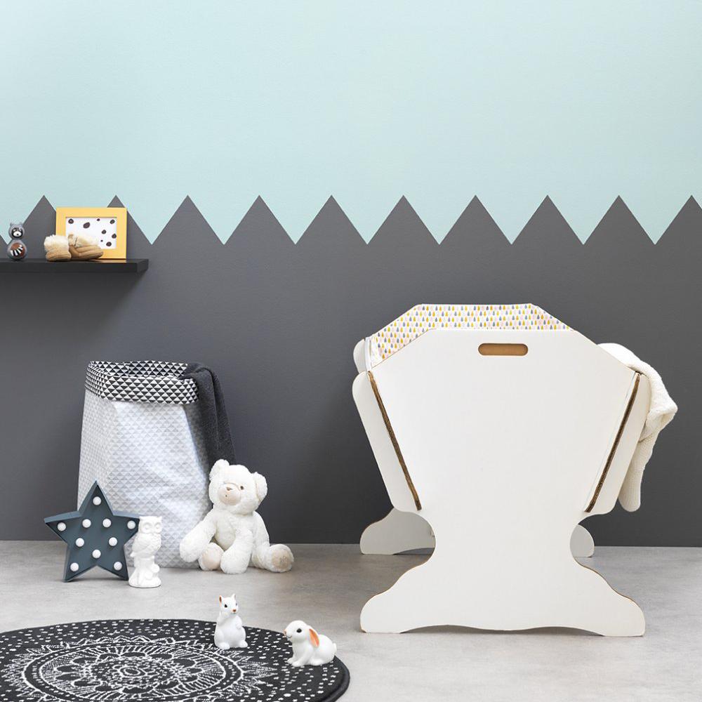 Couleur chambre bebe gris bleu - Couleur peinture chambre enfant ...