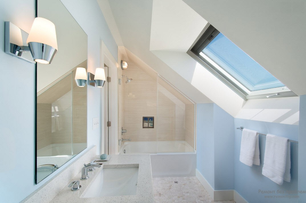 plan salle de bain sous comble - idee amenagement combles photo kr37 jornalagora